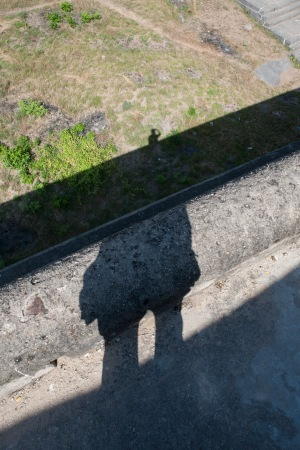 self-portrait with shadows